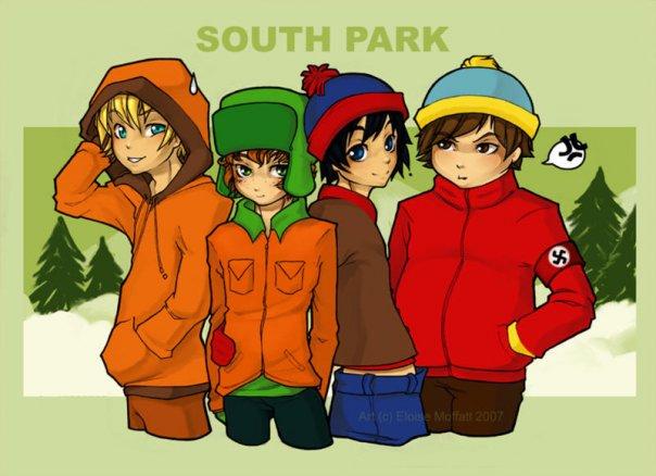 Винкс Клуб против Южного Парка!