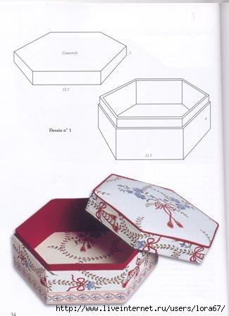 Картонные коробочки своими