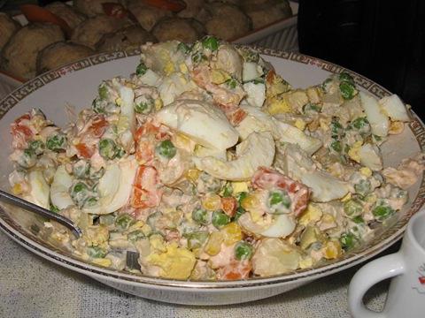 Настоящий рецепт салата Люсьена Оливье