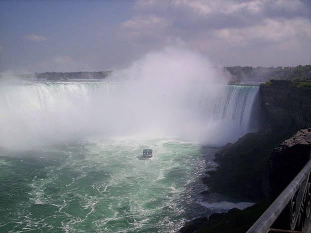 Три Ниагарских водопада с картинками