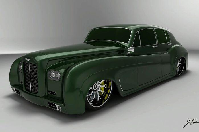 машины 60-х годов бентли