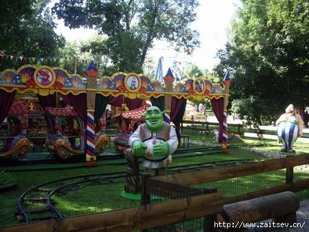 Мытищи Парк культуры и отдыха Шрек Shrek Фото  с сайта zaitsev.cn Дмитрий Зайцев