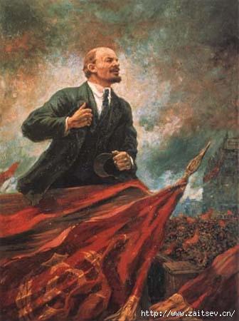 Ленин на трибуне А.Герасимов С сайта zaitsev.cn Дмитрий Зайцев