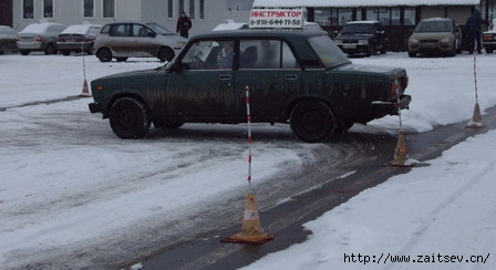 Автодром Автошкола Автоинструктор Уроки вождения Обучение вождению Фото с сайта zaitsev.cn