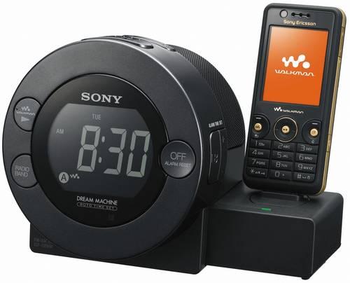 будильник ICF-C8WM Sony Ericsson