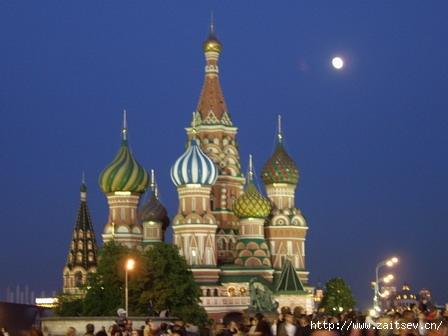 Москва День города Собор Василия Блаженного Фото с сайта zaitsev.cn Дмитрий Зайцев
