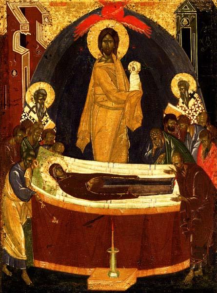 C Праздником Успения Пресвятой Богородицы, дорогие братья и сестры!