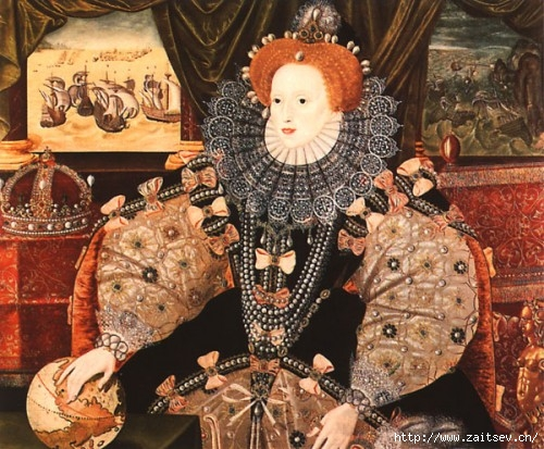 Елизавета I Тюдор Королева Англии С сайта zaitsev.cn Дмитрий Зайцев