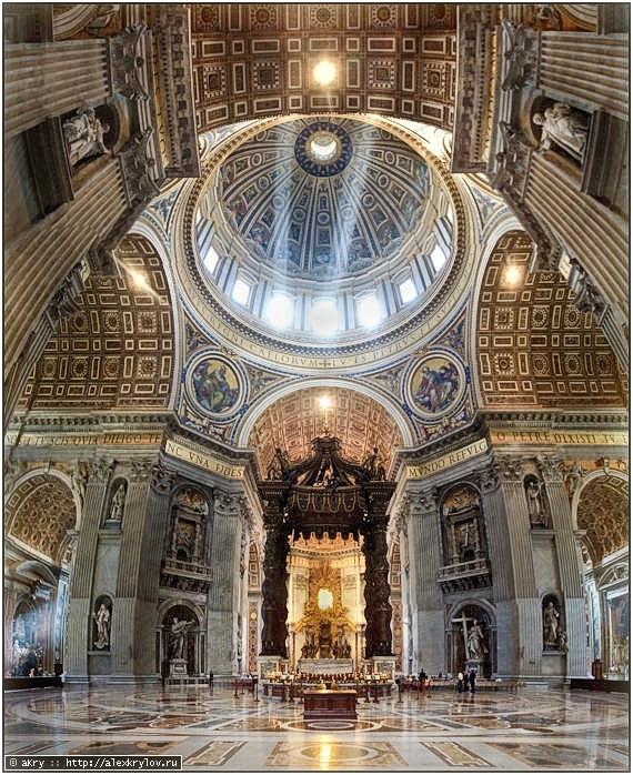 Собор Святого Петра (Basilica di San Pietro) в Риме