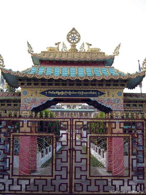 Буддийский храм. Dehradun