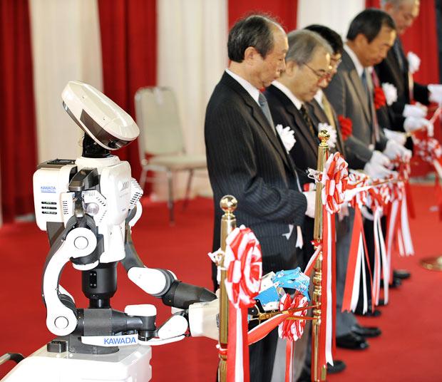 Международная выставка роботов в Токио (The International Robot Exhibition in Tokyo)