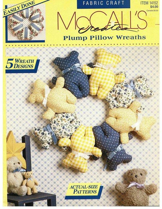 Plump pillow wreath - Венок из мягких подушечек 51661753_1259236228_Mc_Calls_0