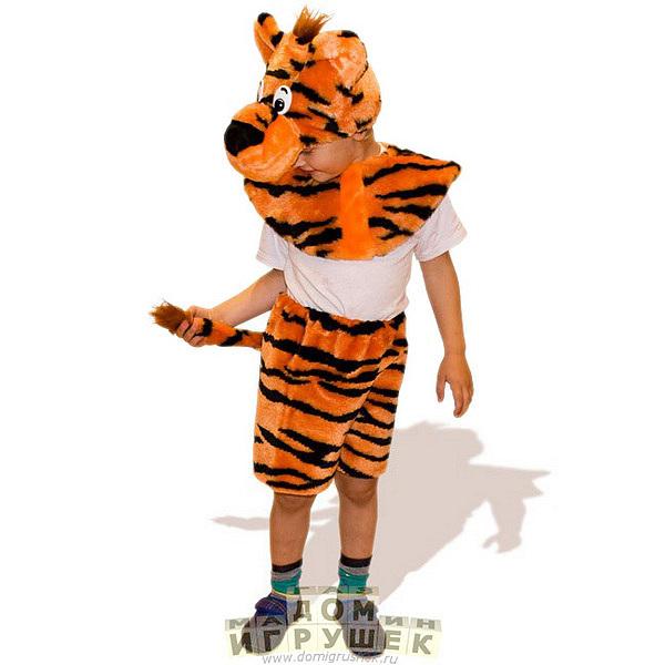 Сексуальный новогодний костюм тигра