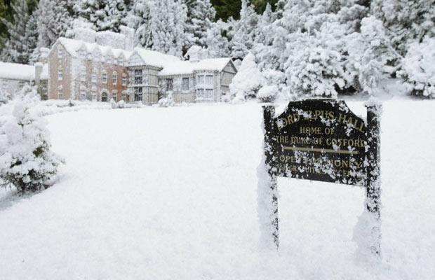 Зимняя сказка в крошечной деревне Babbacombe, что в Девоне