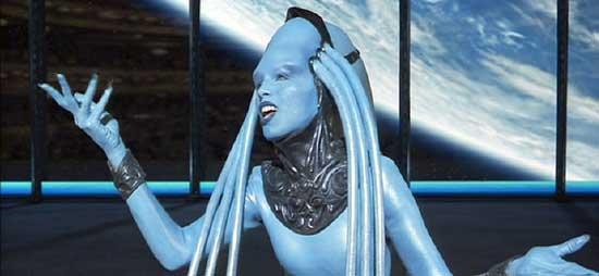 Сексуальная инопланетянка