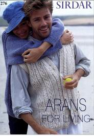 Arans for Living Sirdar Booklet 276