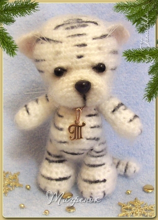 amirugumi: crochet tiger