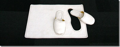 тапочки белые
