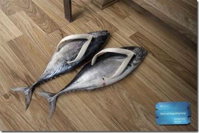 тапочки рыбы