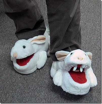 тапочки саблезубые трахающиеся кролики