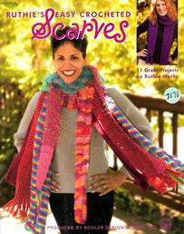 Ruthie's Easy Crocheted Scarves