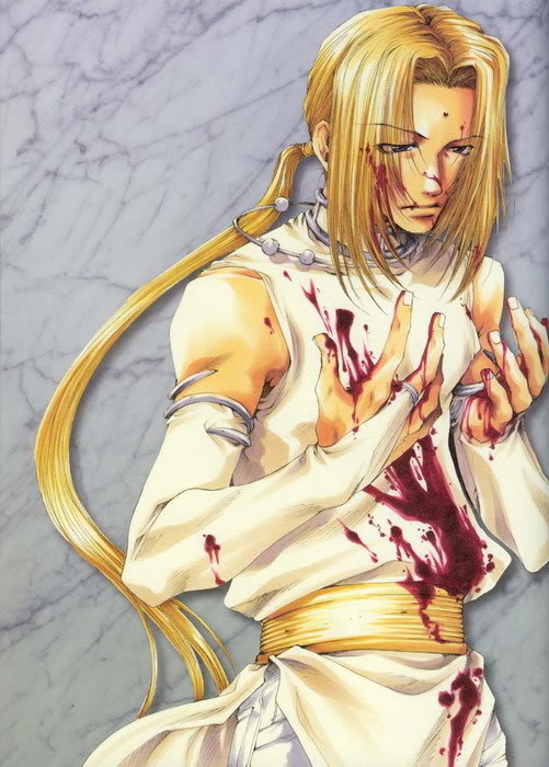 аниме картинки блондины: