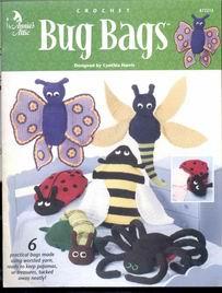 Crochet Bug Bags