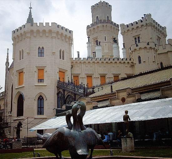 Замок Глубока над Влтавой (The Hluboka Castle) 38740