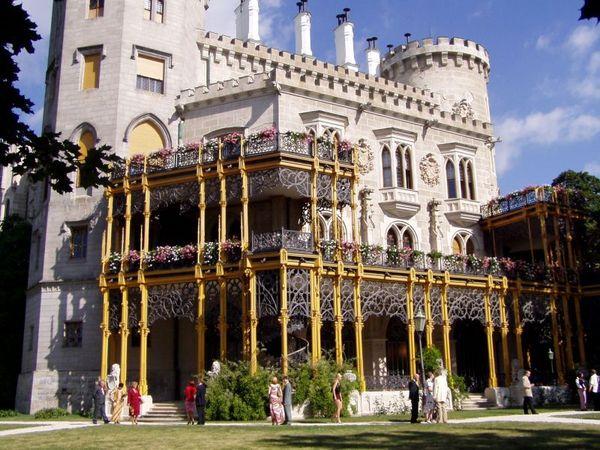 Замок Глубока над Влтавой (The Hluboka Castle) 28751