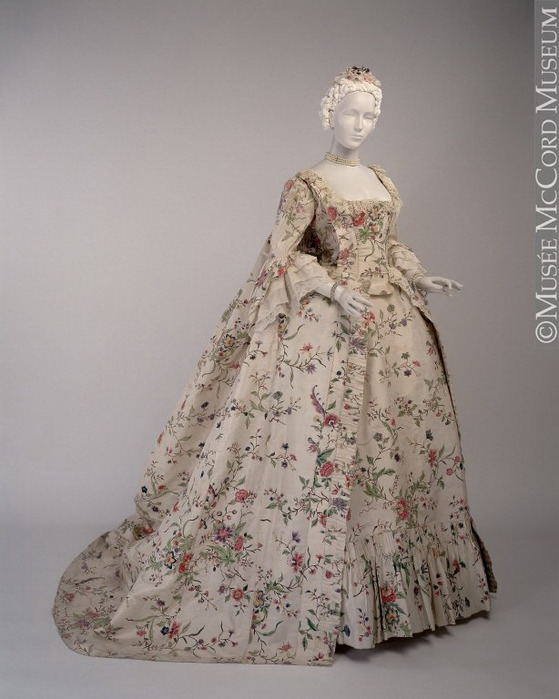 Платья франции 18 век