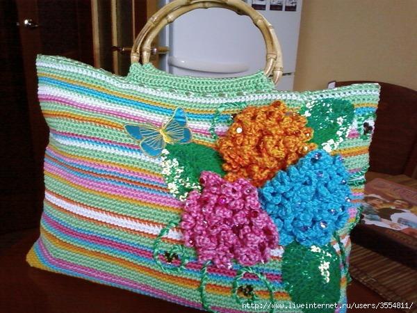 вязанные летние сумки ajnj
