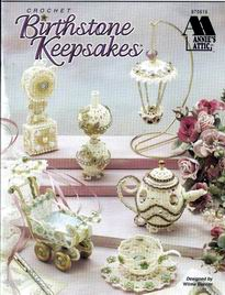 Crochet Birthstone Keepsakes