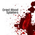 Dried Blood Splatters Photoshop Brushes