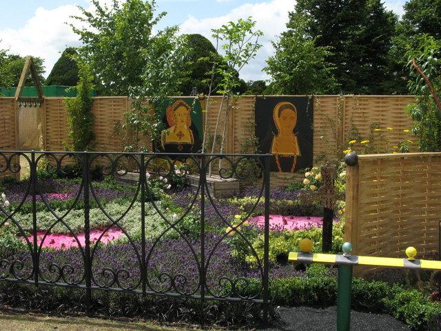 Сады шести жён Генриха VIII в Хэмптон-корте 94797