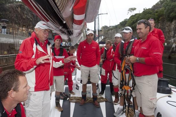 Парусная гонка Сидней-Хобарт на острове Тасмания, 26 декабря 2009 года.