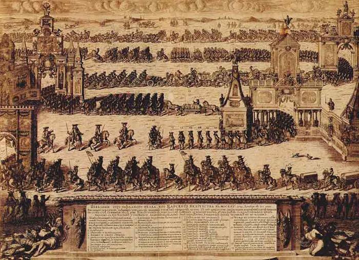 в 1681 году между Россией,