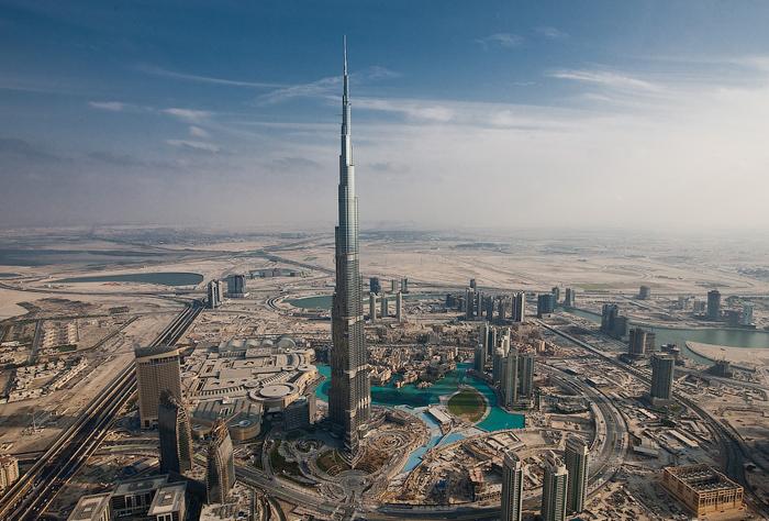 Бурдж Дубай, Бурдж Халифа, В Дубае открывают высочайшее в мире здание