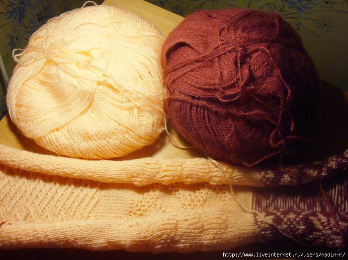 Вязание аранских узоров