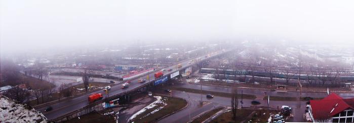 туман кишинёв, панорама