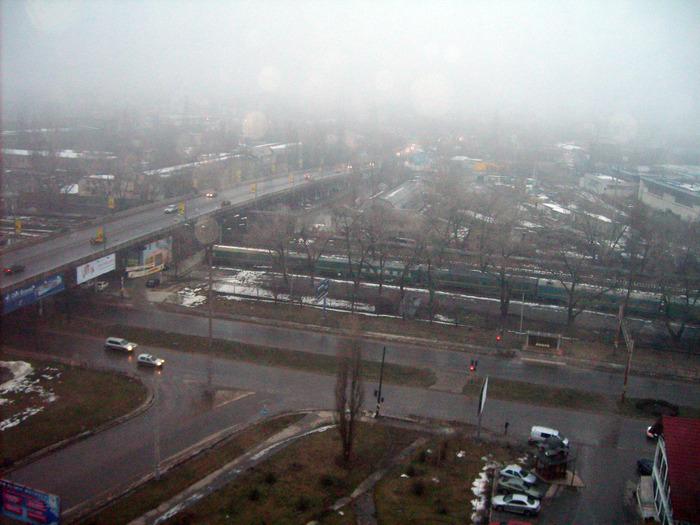 кишинёв, поезд, туман