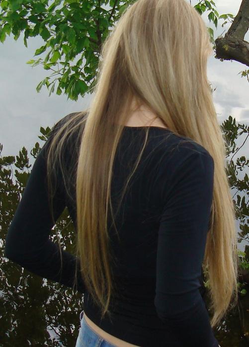 волосы по пояс фото