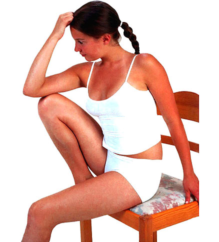 Сидеть ровно – полезно для организма