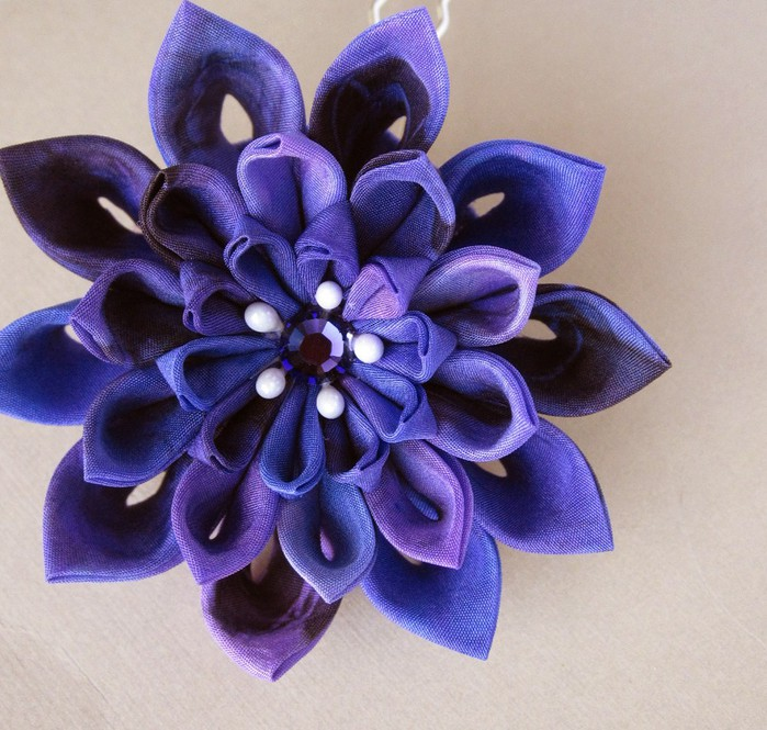 kanzashi patterns to make