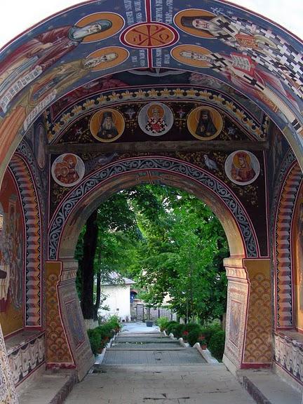 монастырь «Radu Voda»-Бухарест 44867