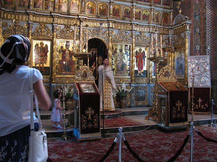 монастырь «Radu Voda»-Бухарест 33481