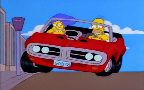 Любимый «Бандит» Змея, купленный Гомером на распродаже, -