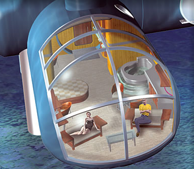Отель под водой – это реально!