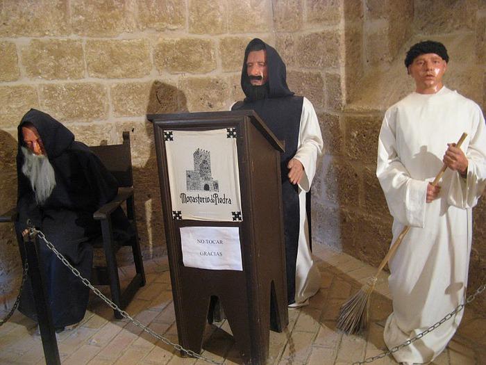 Тайны испанского монастыря - Monasterio de Piedra 73212