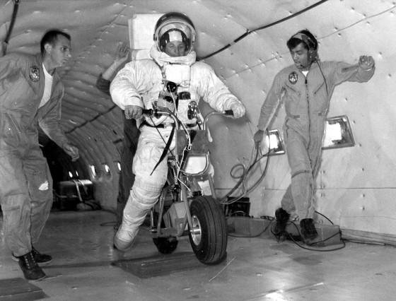 Moon Motorcycle NASA Apollo