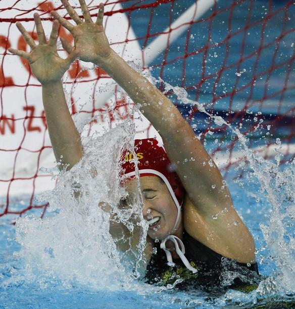 Чемпионат мира по водному поло на Кубок QEII бассейна в Крайстчерч, Новая Зеландия, 22 августа 2010 года.